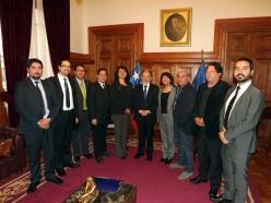 Audiencia Presidente Corte Suprema Sergio Muñoz 2