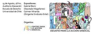 Todos invitados al foro sobre la #ReformaLaboral donde expondrán @Carmen__Miranda @gabrielboric y @contimartinez