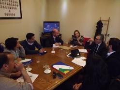 Reunión con Senadores DC