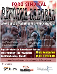 Foro Sindical 19nov2015