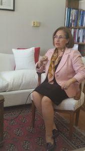 Senadora Adriana Muñoz